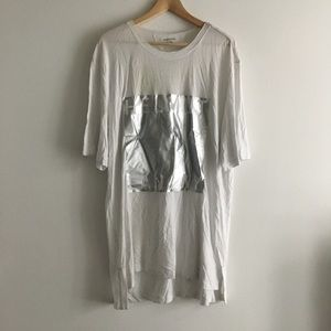 Helmut Lang Short Sleeve Logo Tshirt Top